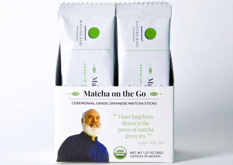 """Matcha on the Go"" Ceremonial Stick Packs"