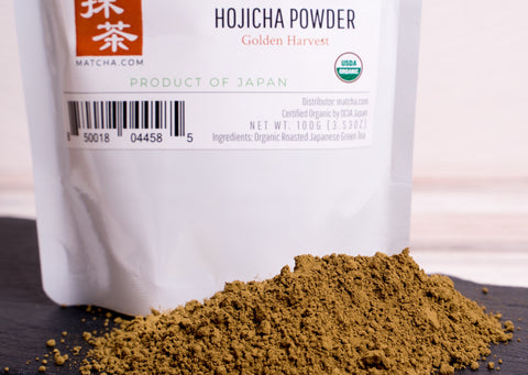 Hojicha Tea Powder - Organic Roasted Hojicha Powder