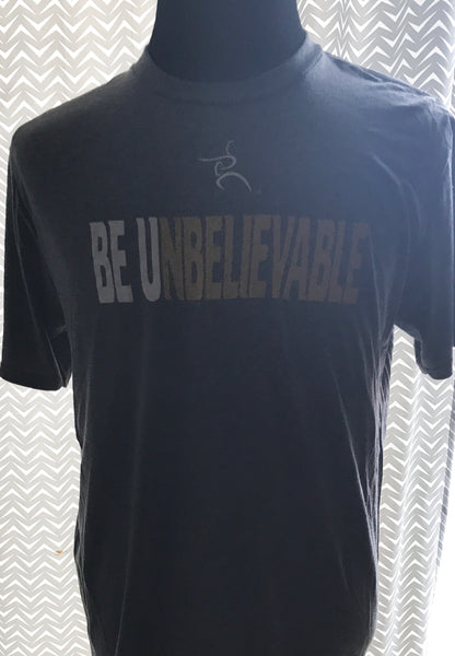 Be Unbelievable Light Grey Tee