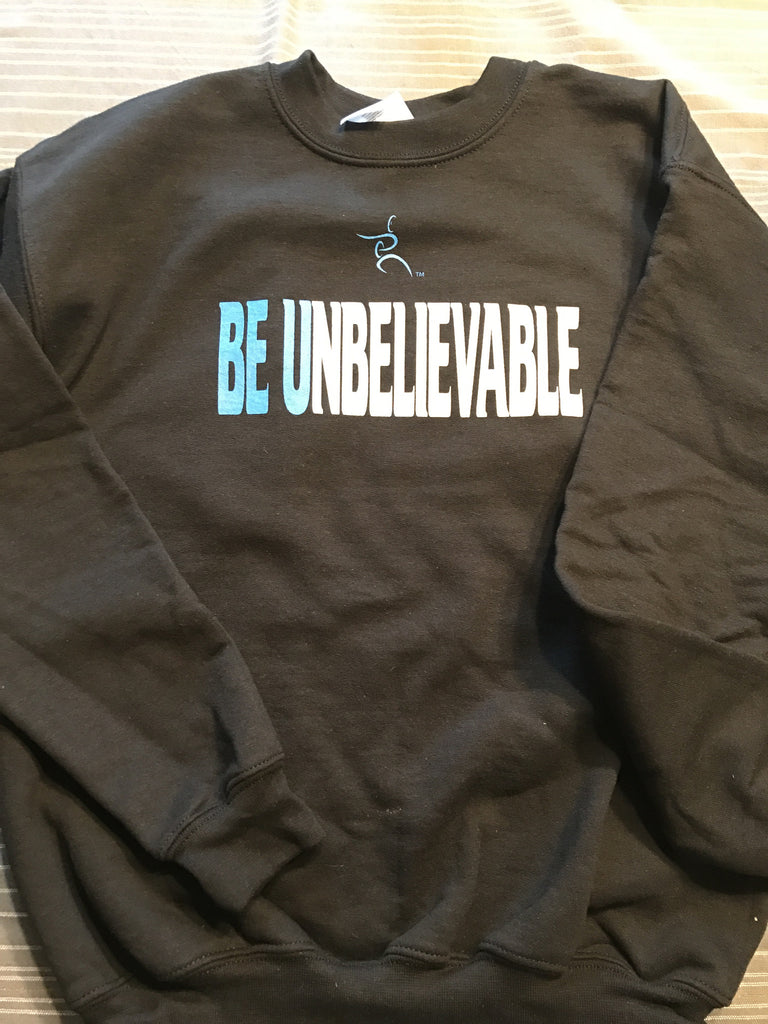 Kids Crew Sweatshirt -Be Unbelievable