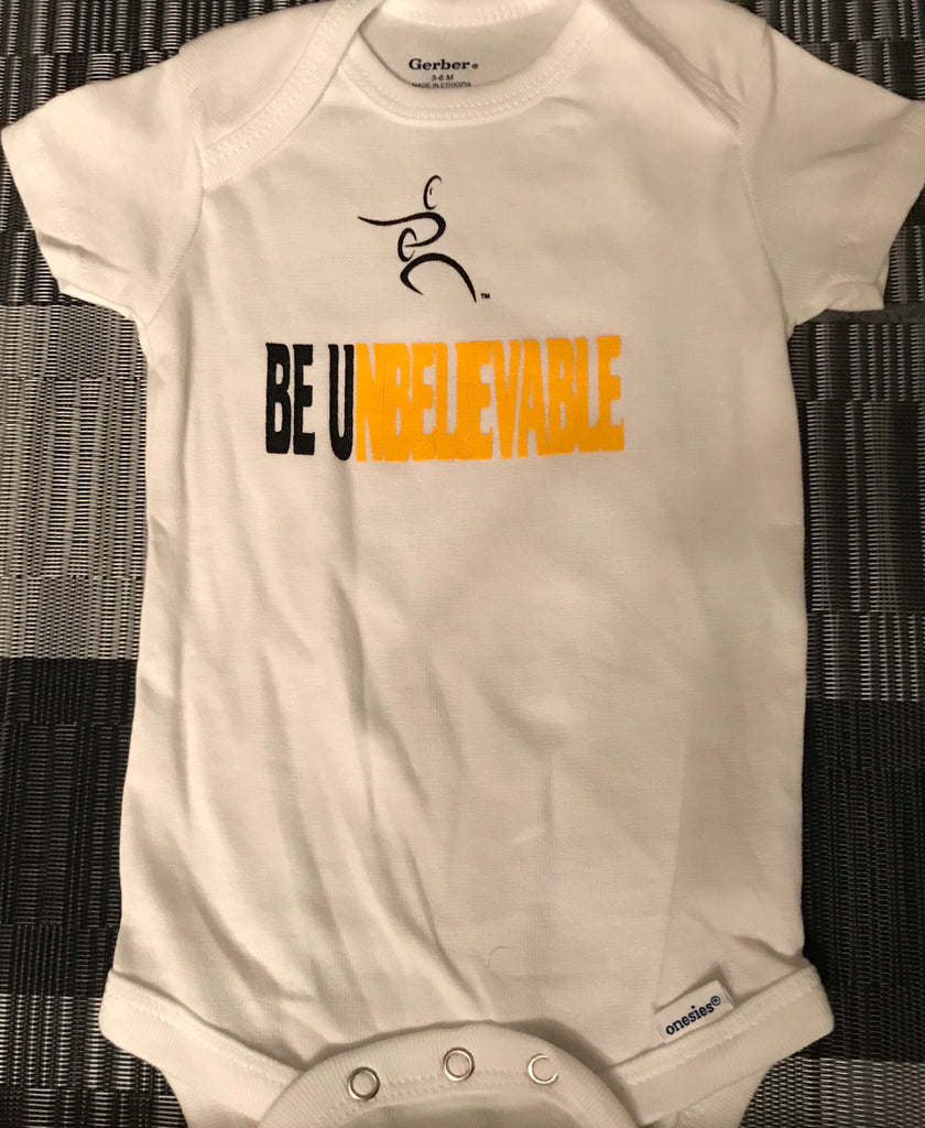 New !! Infant Be UnBelievable Onesie