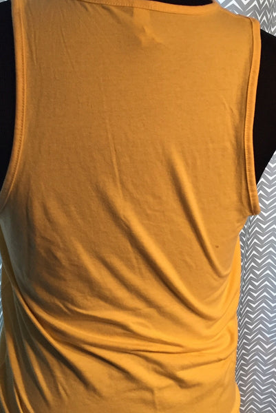Lucas Gear Yellow Tank Top - Size Small