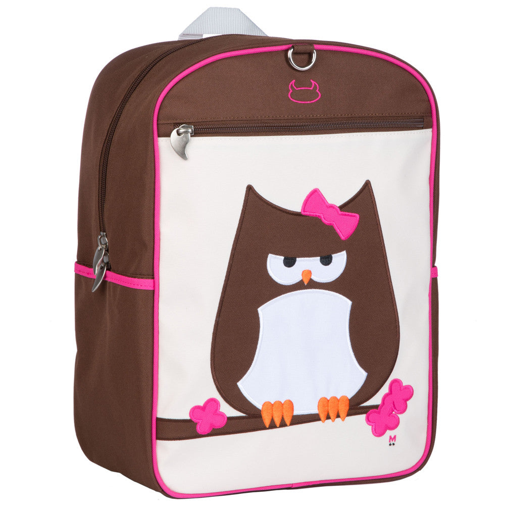 beatrix new york papar owl new  large backpack – kindygears - beatrix new york papar owl new  large backpack