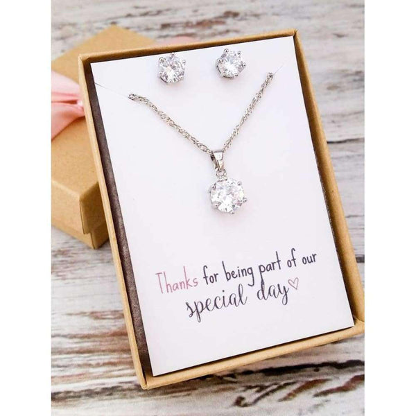 Bridesmaid Jewelry Set | Bridesmaid Gifts | Bridesmaid Gifts Jewelry