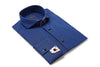JER Square Blue folded mens dress shirt from Modus man
