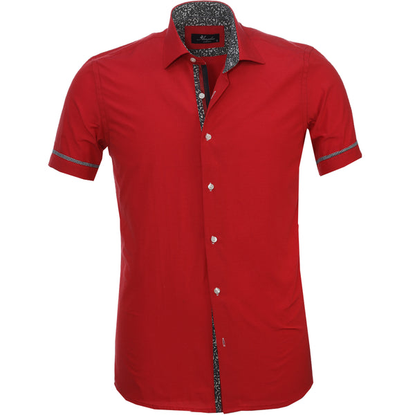 Short sleeve - Solid Rouge
