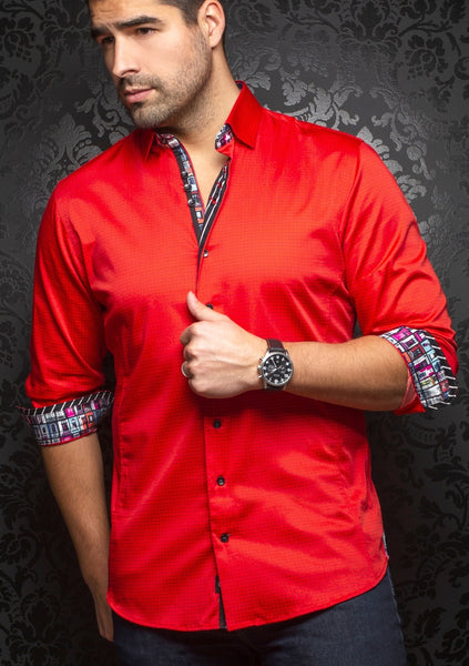 Au Noir shirts DIXON_red