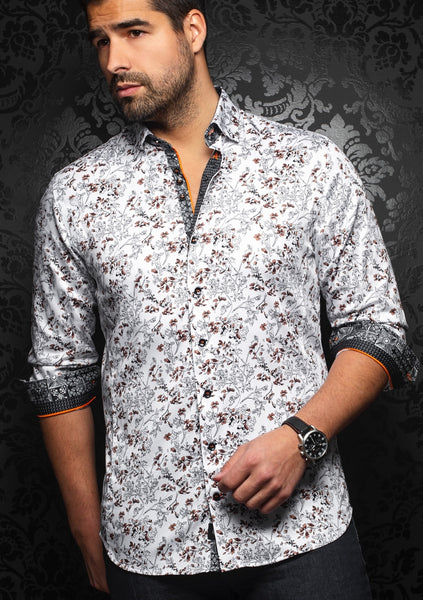 Au Noir shirts PAULO_brown