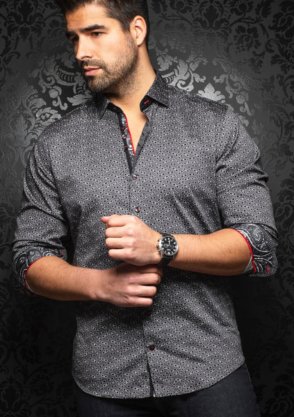 Au Noir shirts WHISKY black