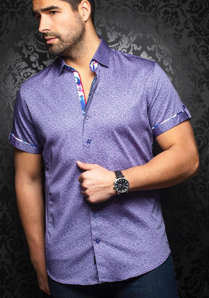 Au Noir shirts ZOLO (SS) purple