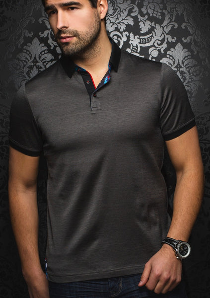Charcoal_polo_shirt_for_men_by_Au_Noir_shirts