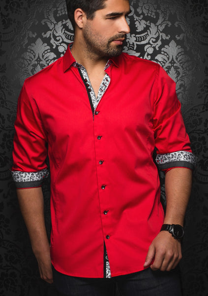 Au Noir shirts Alson Red