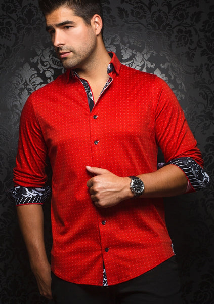 Au Noir shirts WILSON red