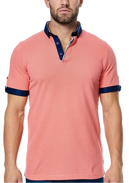 Maceoo polo shirts Polo S Coral BC Pro