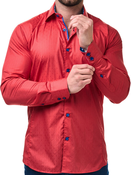 Maceoo shirts Flavour Red