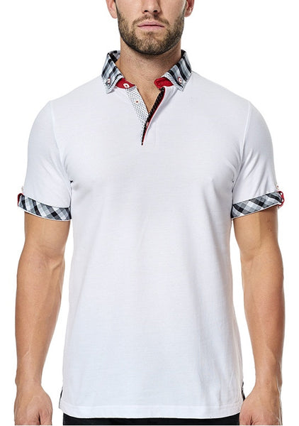 Maceoo shirts Polo S White DC