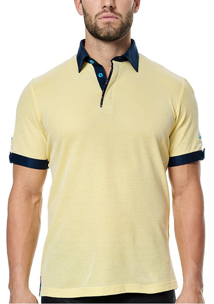 Maceoo shirts Polo S Yellow SC