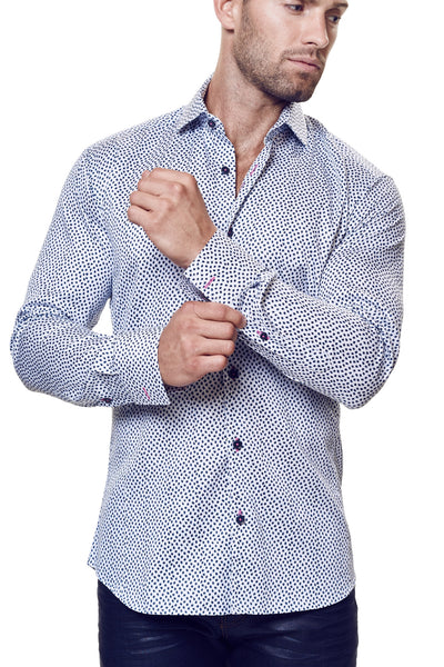 Maceoo shirts VOGUE METEOR BLUE