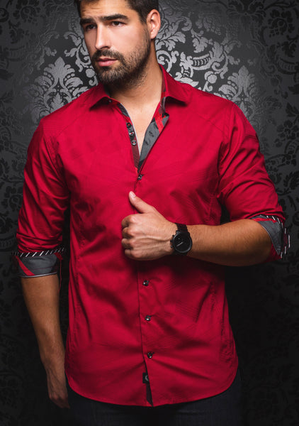 red_long_sleeve_shirt_for_men_by_designer_Au_Noir_shirts