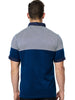 Maceoo polo shirts Polo S Cross Navy White BC back