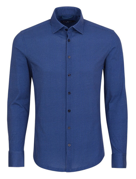 long sleeve navy blue shirt for men from Stone Rose shirts Fall 2018 collection