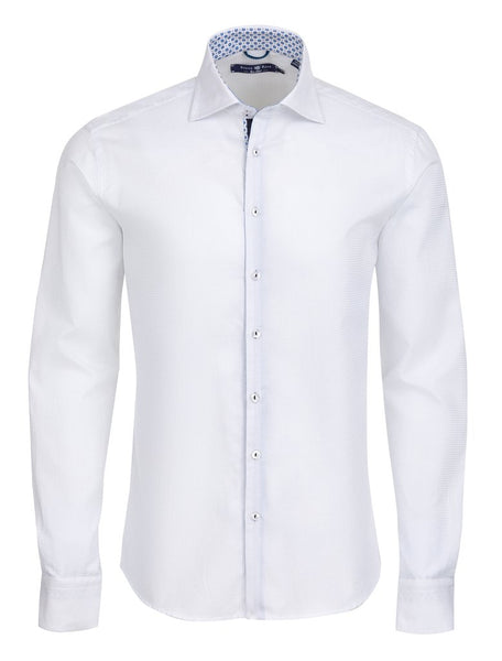white long sleeve Stone Rose shirt