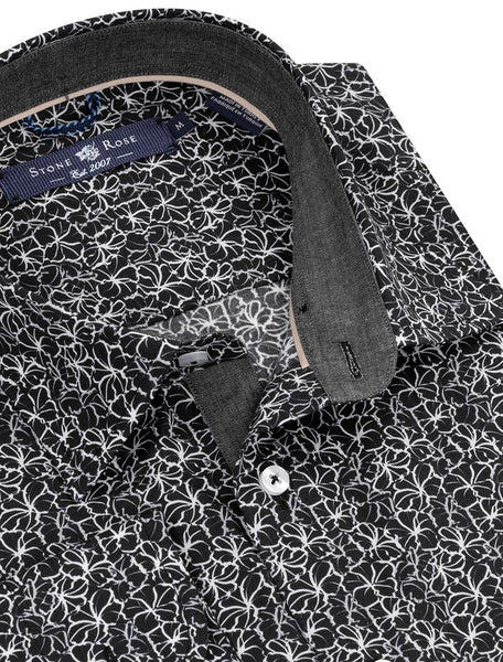 Stone Rose shirts MNL9205-001-BLACK
