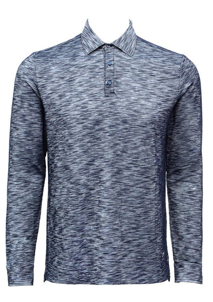 Long Sleeve polo: Elpolo navy