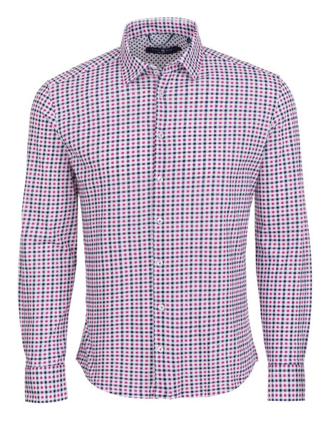 Stone Rose pink plaid shirt