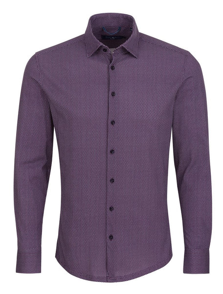 long sleeve purple shirt for men from Stone Rose shirts Fall 2018 collection