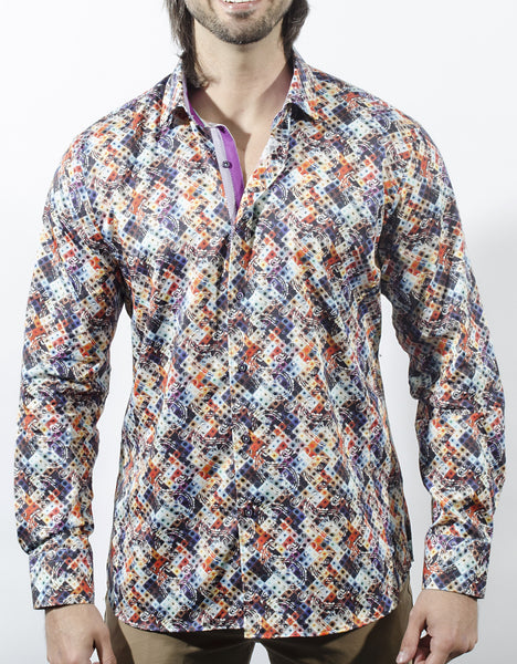 Funky mens dress shirts from Via Uomo shirts Grena
