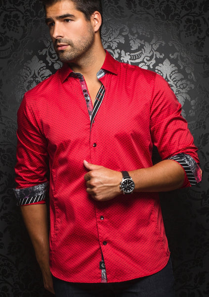 au noir shirts SEGOVIA red
