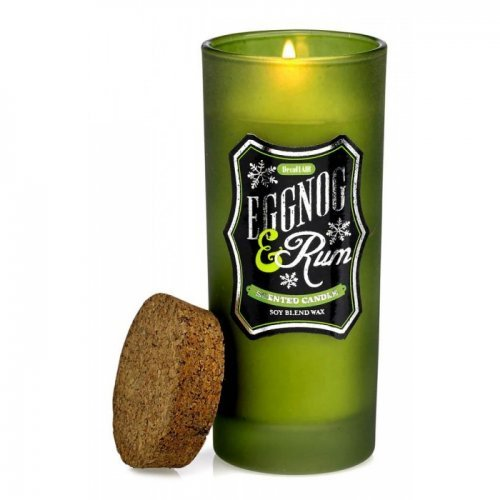 EGGNOG & RUM HIGHBALL SCENTED CANDLE