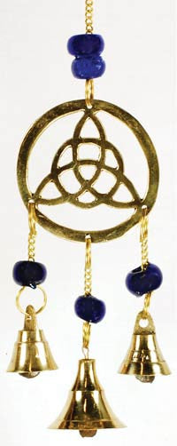 Three Bell Triquetra Windchime