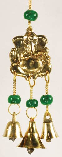 Three Bell Ganesh Windchime