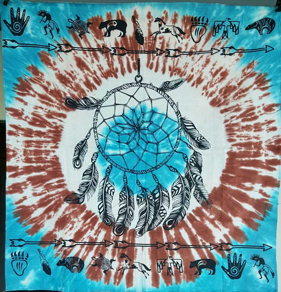 Dreamcatcher Tie-Dyed Cloth