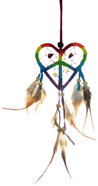 Love & Peace Dream Catcher