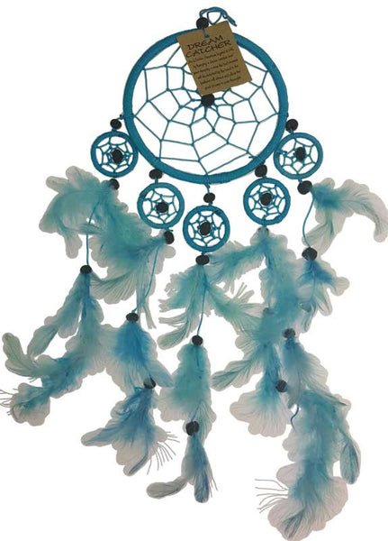 Light Blue Dream Catcher