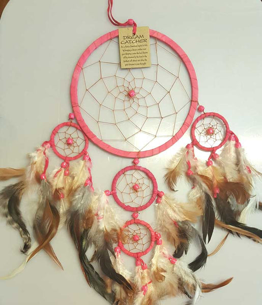 Fuchsia Dream Catcher