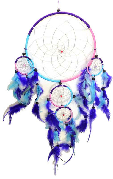 5 Rings Dream Catcher