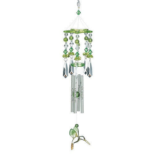 Small Green Hummingbird Chime