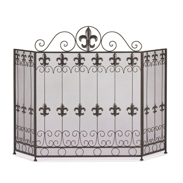 French Revival Fireplace Screen