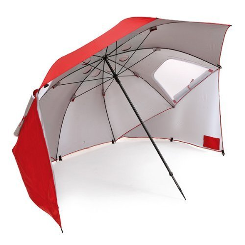 "96"" Arc Portable Sun Shelter - Ideal for Beach, Camping, or Outdoors Activities"