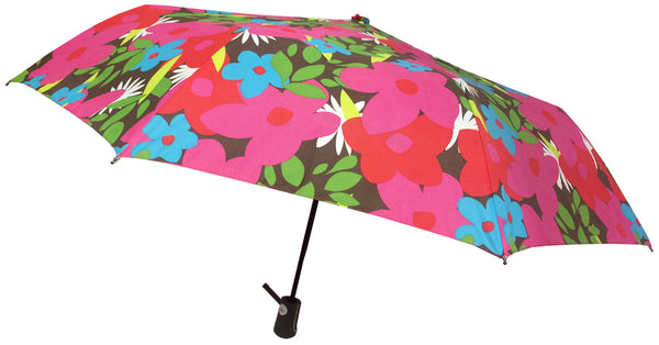 London Fog Mini Auto Floral Umbrella
