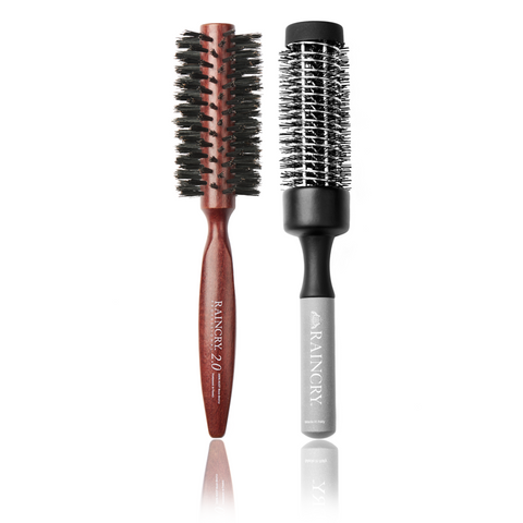 Smooth Volume Round Brush Package for Voluminous Smooth Hair