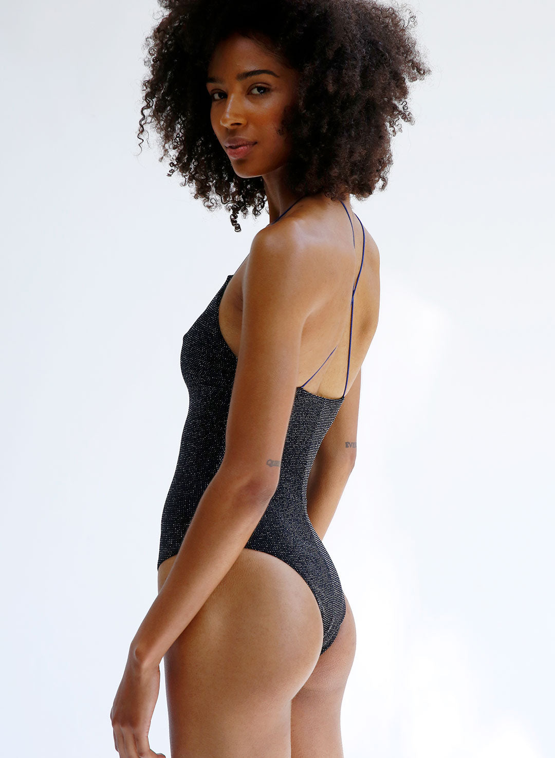 The Colette One Piece Disco Black