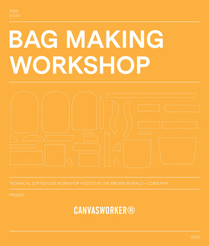 Backpack Making Workshop - April 16, 2020