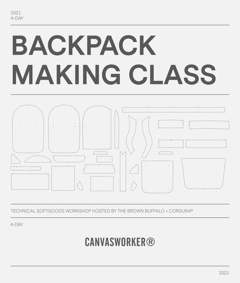 Backpack Making Class / ConcealPack™ - June 8th to 11th