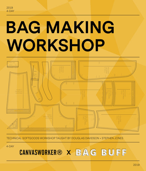 Backpack Making Workshop - December 10th, 2019
