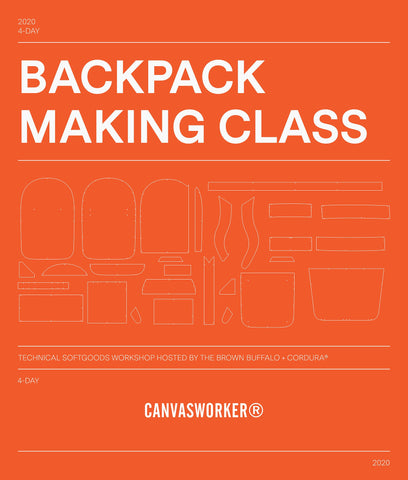 Backpack Making Class | Conceal Backpack - September 22-25, 2020